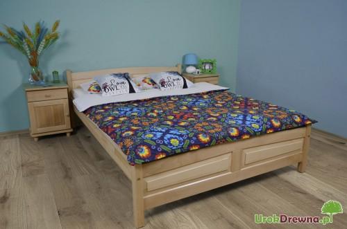 łóżko Drewniane Bukowe Filonek 140 X 200