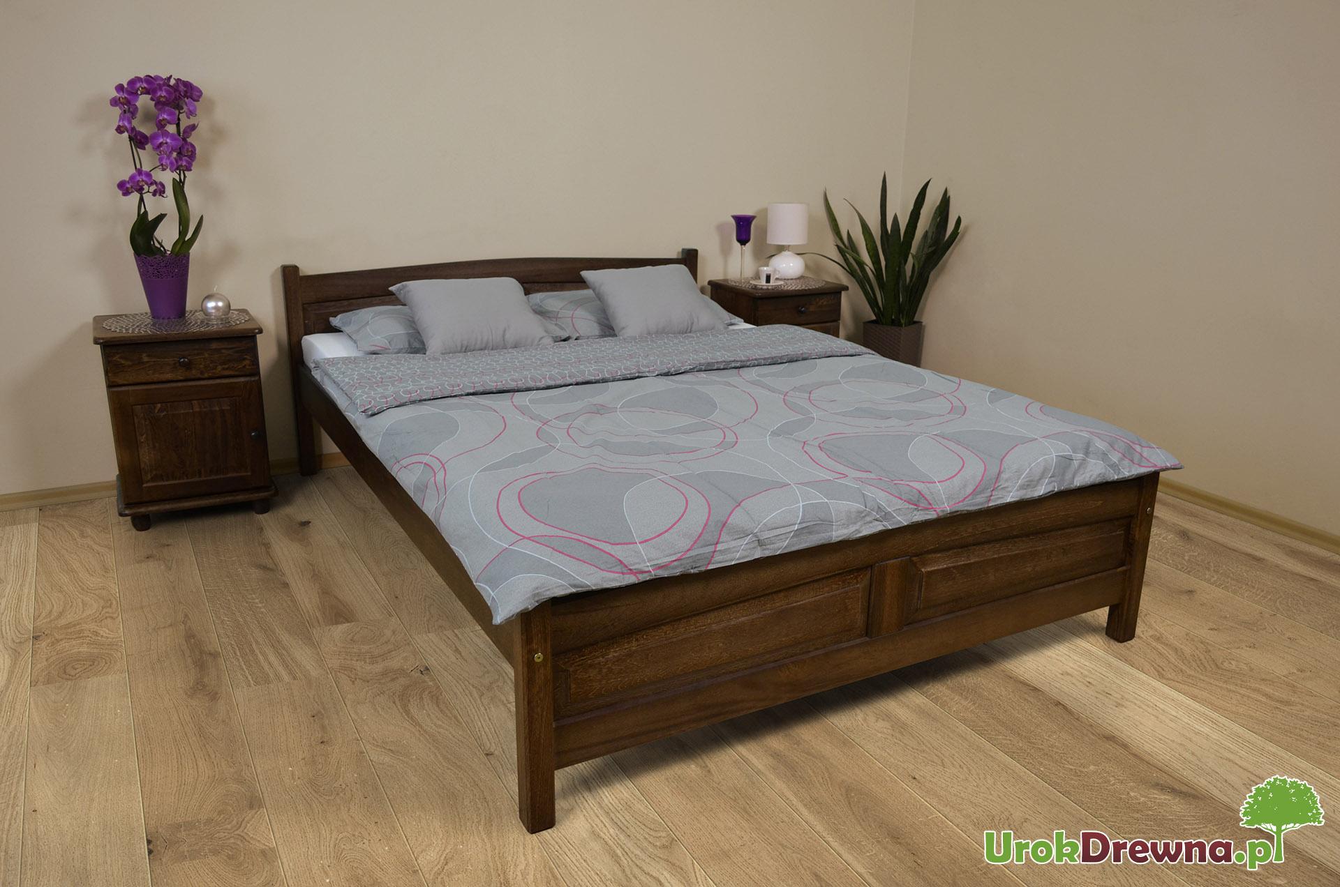 łóżko Drewniane Bukowe Filonek 180 X 200 Urokdrewnapl Meble