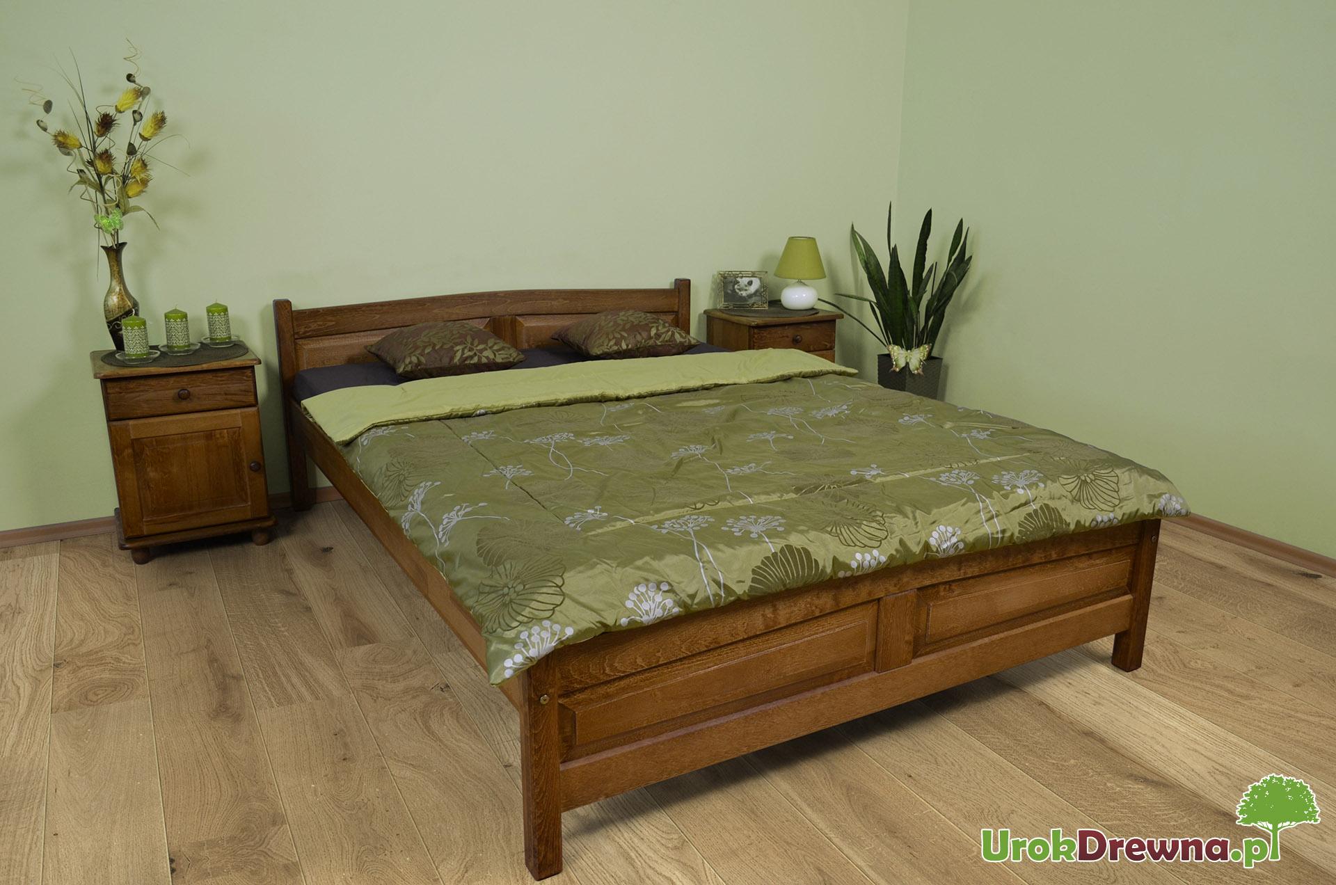 łóżko Drewniane Bukowe Filonek 120 X 200