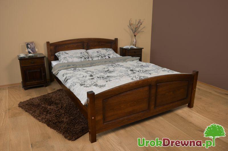 łóżko Drewniane Sosnowe Mario 160x200