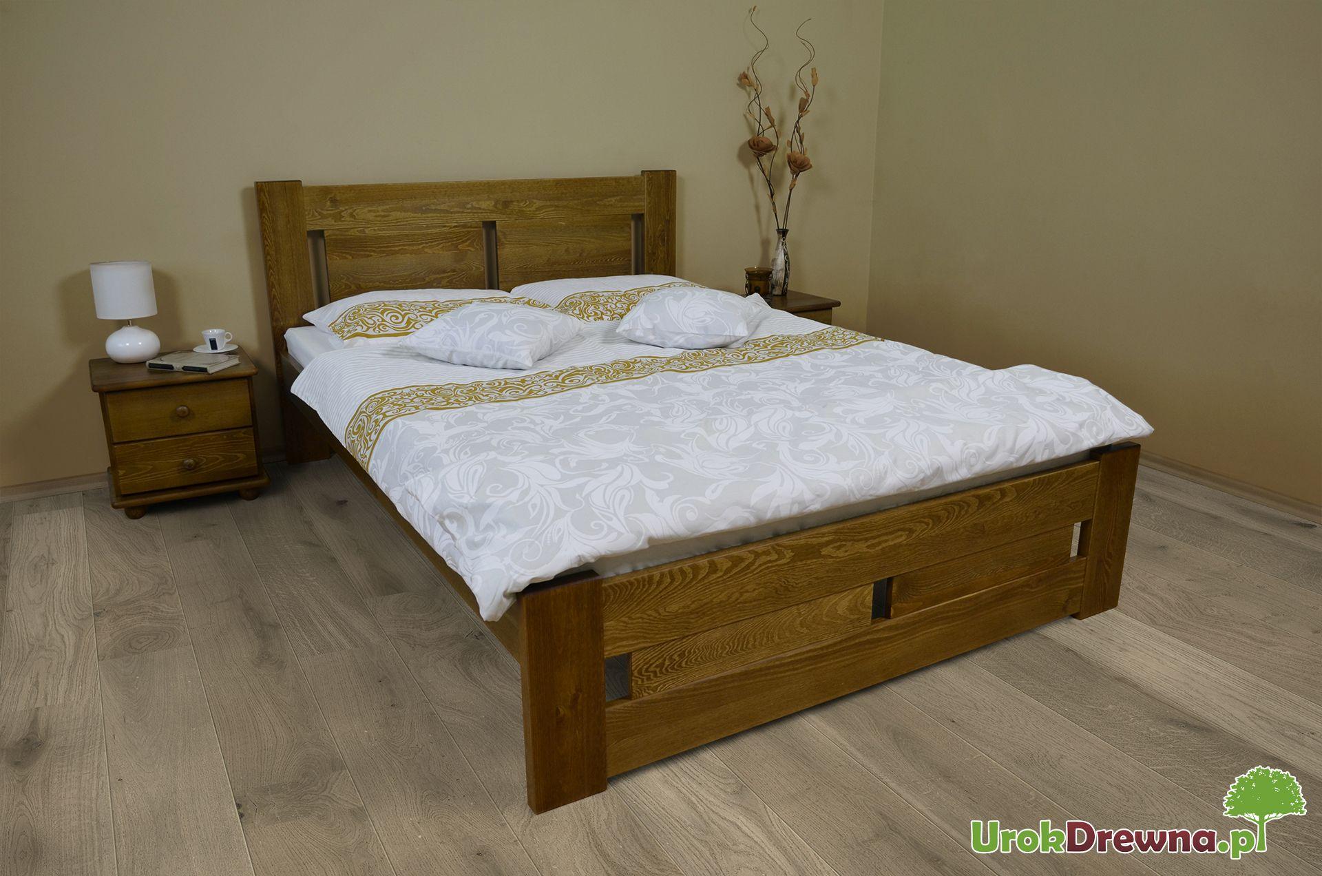 łóżko Do Sypialni Sosnowe Nela 140x200