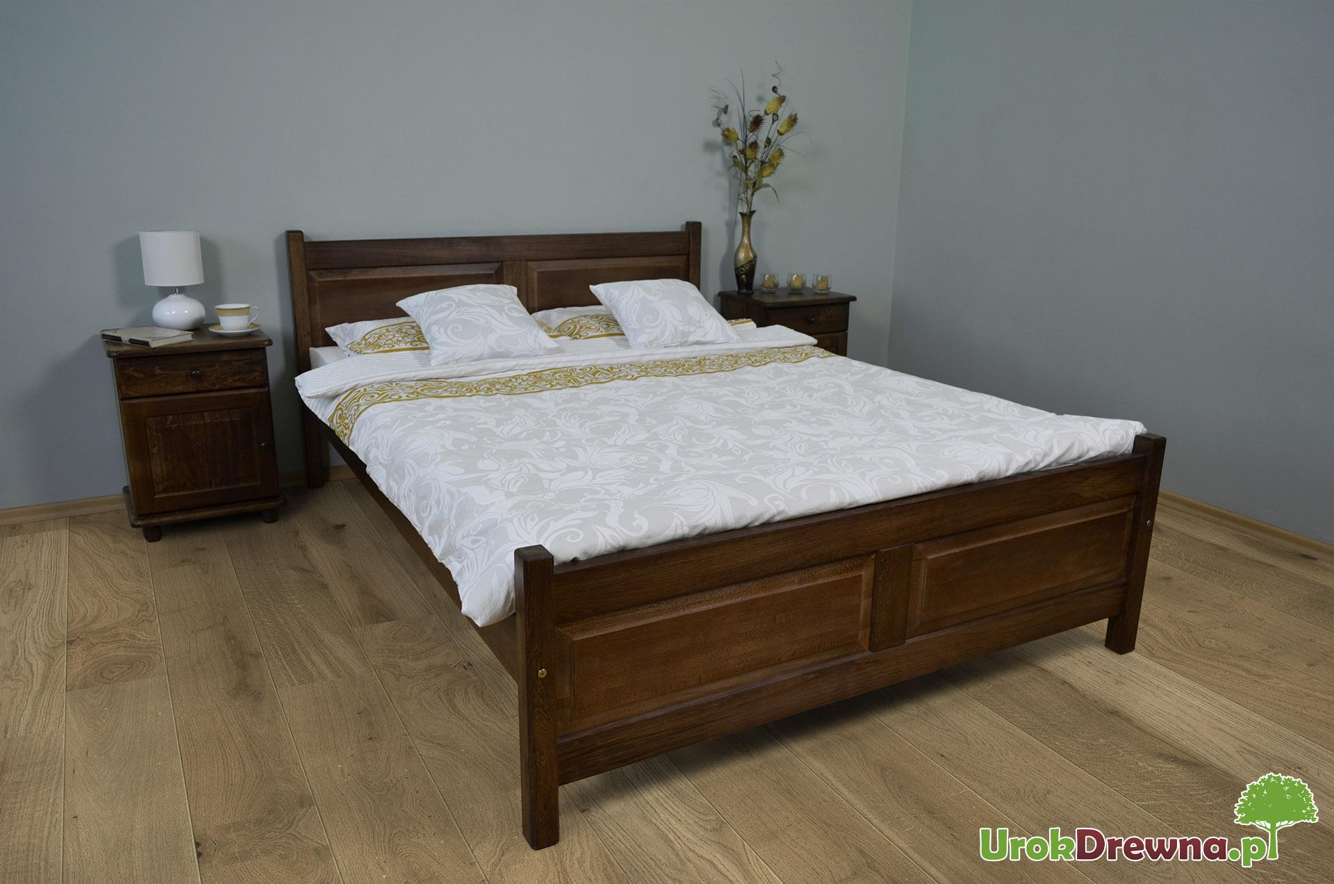 łóżko Drewniane Bukowe Filonek Ii 140 X 200