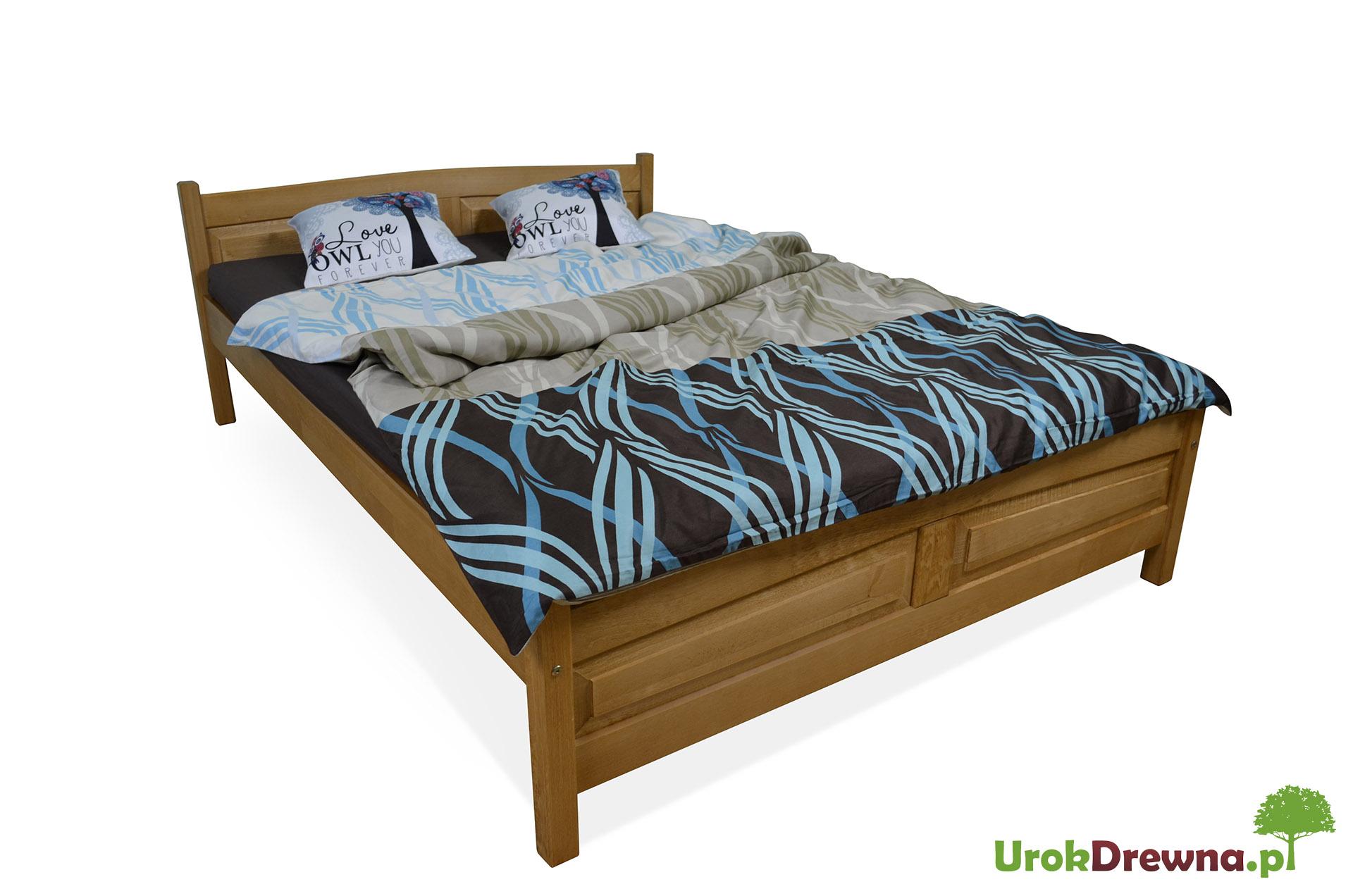 łóżko Drewniane Bukowe Filonek 160 X 200 Urokdrewnapl Meble